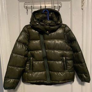 GAP cold control high shine puffer jacket